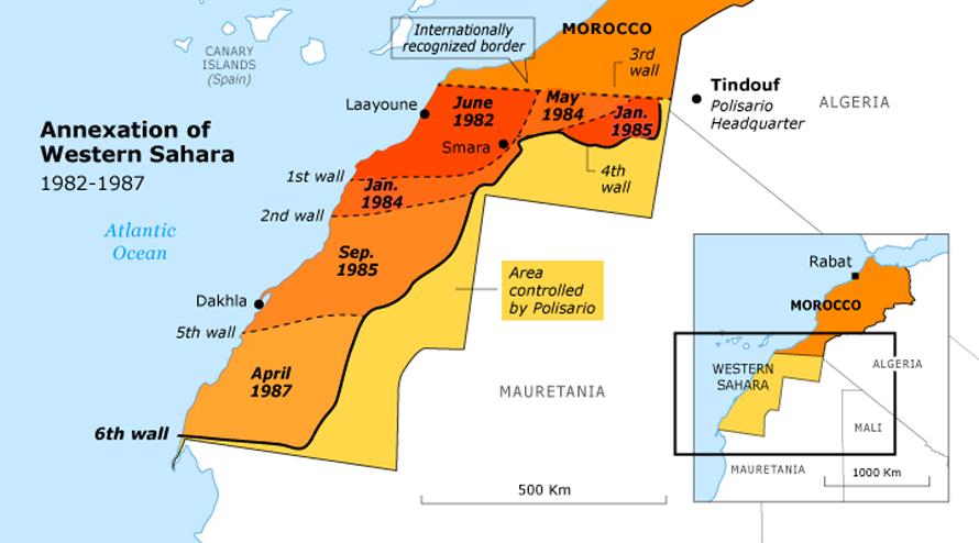 Western sahara conflict